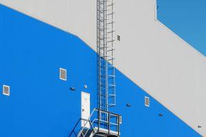 instalaciones industriales azul