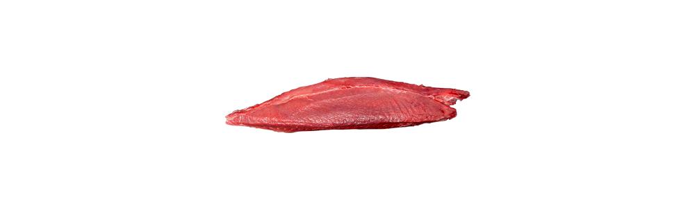 Frozen bigeye tuna ventresque (Thunnus obesus)