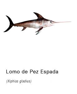 lomo pez espada fileteado