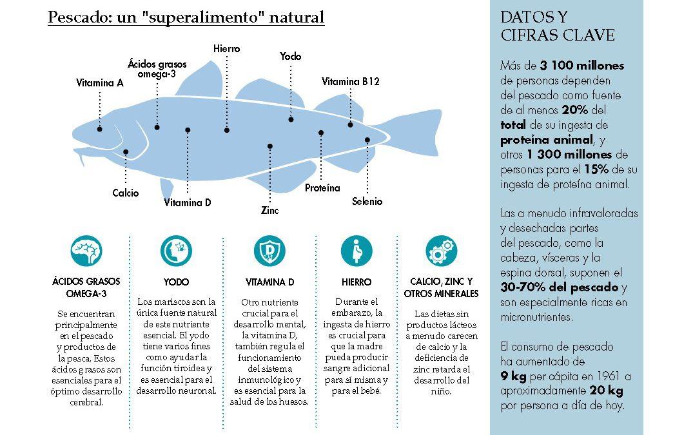 El Pescado: un superalimento natural